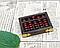 Старинные счеты абакус соробан из массива дерева 90 * 70 * 20 мм подарочные, фото 5