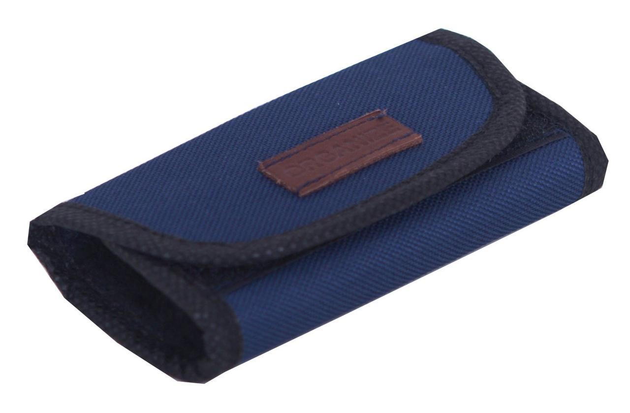 Полировочная Варежка для полировки обуви ORGANIZE X009-blue  синий
