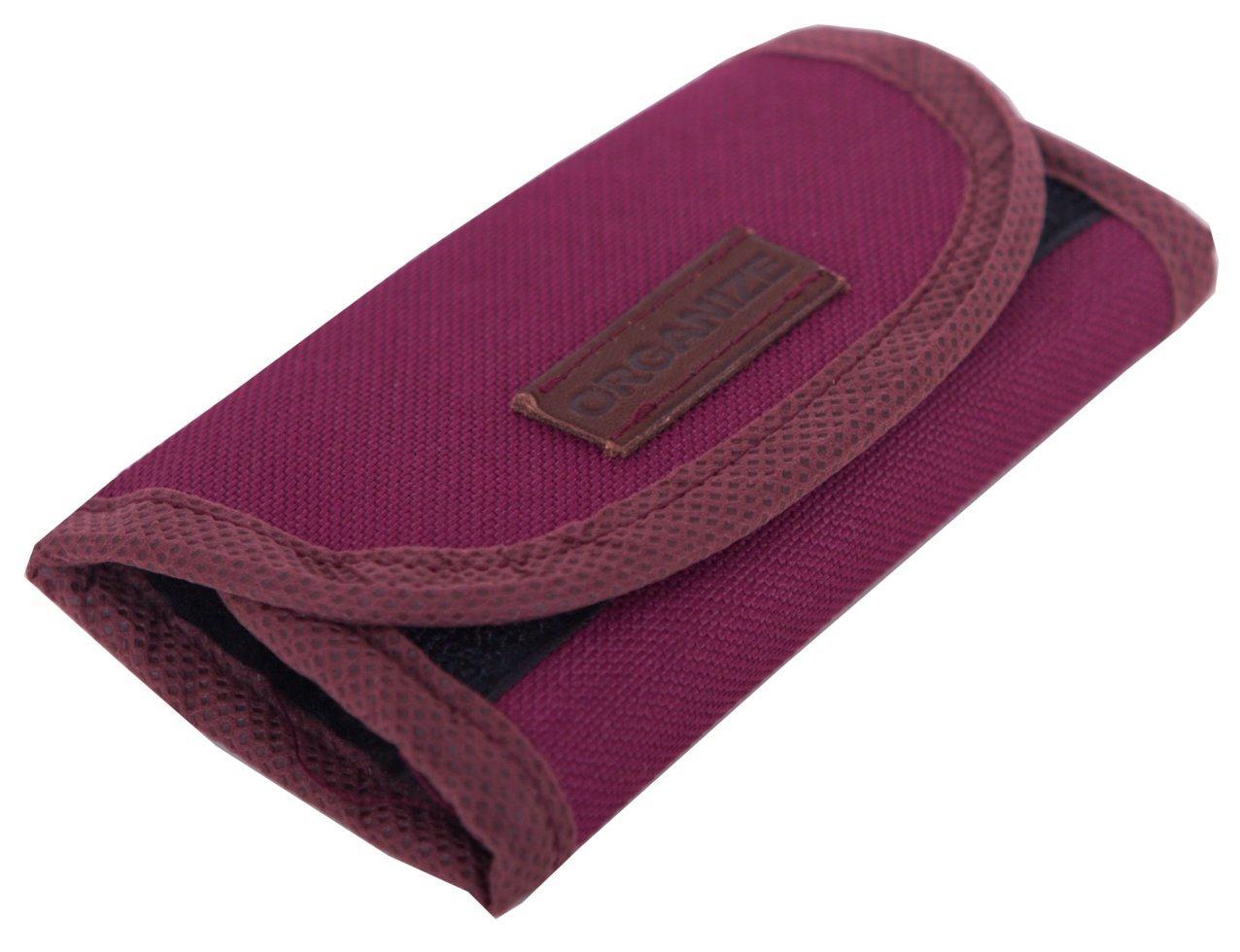 Складная варежка для полировки обуви ORGANIZE X009-wine винный