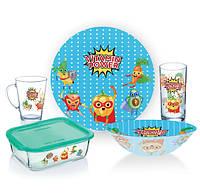 Набор посуды  детский LUMINARC VITAMIN POWER 5 шт