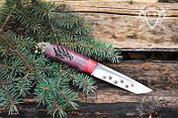 "Нож ручной работы ""Бурый медведь"" 145х30х4мм с ручкой из амаранта"