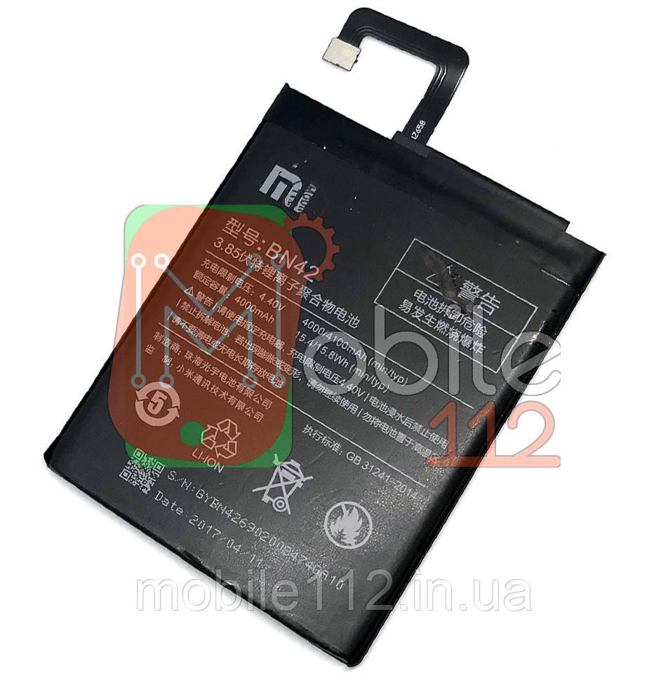 Аккумулятор (АКБ батарея) Xiaomi BN42 оригинал Китай Redmi 4 4000/4100 mAh