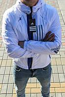 Куртка ADIDAS-белая {S}