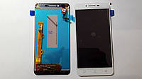 Дисплейний модуль для телефону Lenovo K5 A6020a40 Vibe #L5062H3G-FPC в зборі з тачскріном, білий