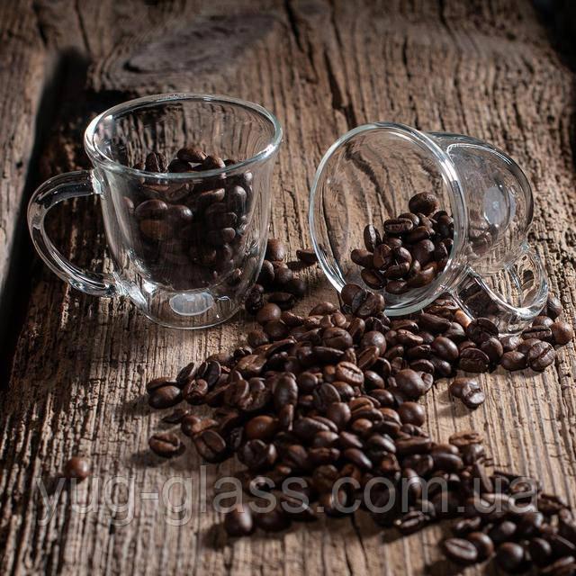 Набор кофе 80 мл с двойными стенками