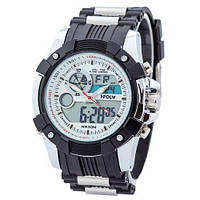 Sport Watch Black-Silver