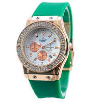 Hublot  Aquamarine-Gold-White