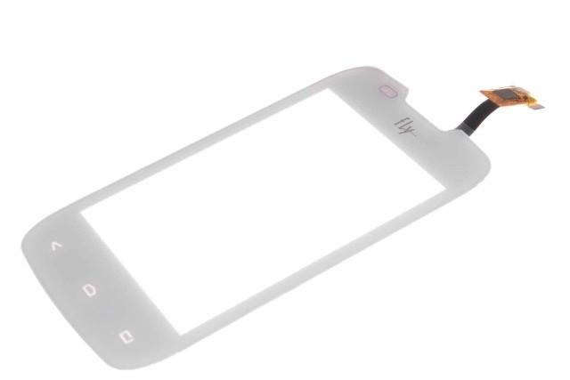Fly IQ431 сенсорний екран, тачскрін білий