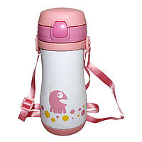 Термокружка-термос Edenberg EB-3521 pink - 350 мл для детей