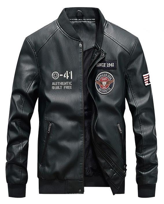 American Icon мужская куртка в стиле милитари экокожа джип jeep