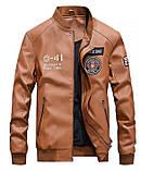 American Icon мужская куртка в стиле милитари экокожа джип jeep, фото 3