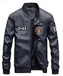 American Icon мужская куртка в стиле милитари экокожа джип jeep, фото 5