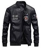 American Icon мужская куртка в стиле милитари экокожа джип jeep, фото 2