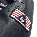 American Icon мужская куртка в стиле милитари экокожа джип jeep, фото 8