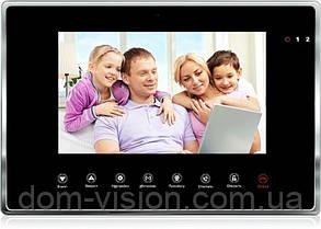 Видеодомофон DOM DS-7W( В)  скидка с витрины, фото 3