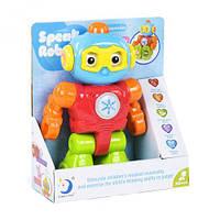 Интерактивная игрушка говорящий робот (eng) scs