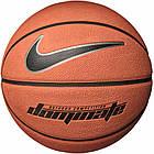 Мяч баскетбольный Nike Dominate Amber/Black/Metallic Size 7 - Оригинал, фото 3