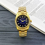 Rolex Date Just 067 New Gold-Blue, фото 5