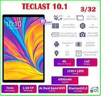 ПЛАНШЕТ Teclast P10HD 10,1 Android 9,0 1920x1200 Восьмиядерный 3 ГБ ОЗУ 32 Гб ПЗУ 4G, фото 1