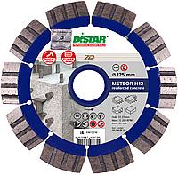 Круг алмазный Distar Meteor 7D 125 мм сегментный диск по тяжелому и высокоармированному бетону для УШМ