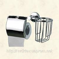 Держатель туалетной бумаги с подставкой под освежитель Atak 8530022