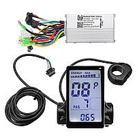 Контроллер для электро велосипеда с LCD M5 13-20A 36\48v на борту 20 программ