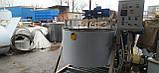 Котел пищеварочный кпе-350 з мішалкою на олії, фото 3