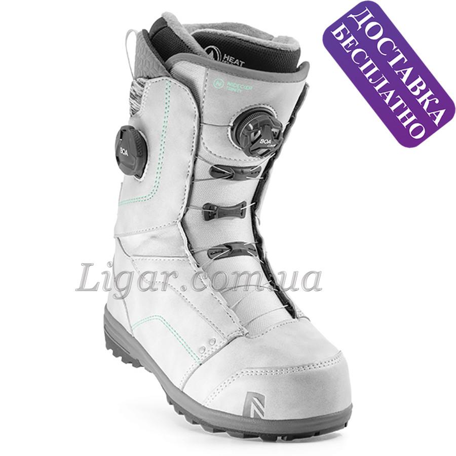 Стильные сноубордические ботинки nidecker Trinity Boa Focus Platinumgry 2020 года