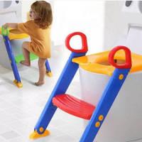 Детское сидение на унитаз с лесенкой  Baby Toys