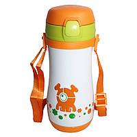 Термокружка-термос Edenberg EB-3521 orange - 350 мл для детей