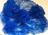 Паутинка Пастели Оренбурга, Ш-00220, цвет синий, оренбургский платок (паутинка), фото 2