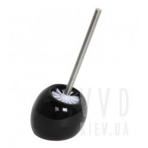 Ершик для унитаза Trento Color (черный)