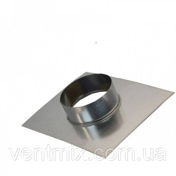 Фланец d 180 мм из оцинкованной стали