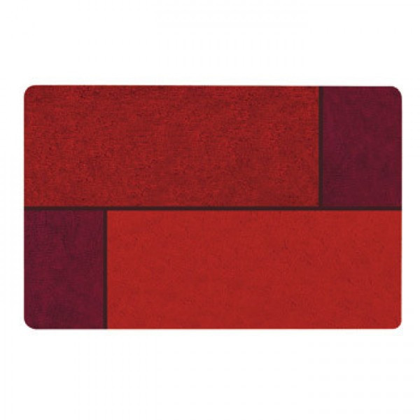 Коврик для ванной Spirella UNIT 60х90см красный 10.15661