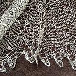 Паутинка Пастели Оренбурга, Ш-00104, цвет жемчужно-серый, оренбургский платок (паутинка), фото 2