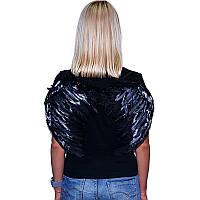 Крила ангела, чорні, 45*35 см, Крылья ангела
