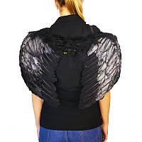 Крила ангела, чорні, 50*40 см, Крылья ангела