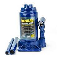 Домкрат бутылочный 10т VITOL IronHand ДБ-10002H (в картоне)