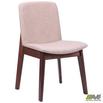 Обеденный стул Ричмонд орех светлый/ткань бежевая AMF