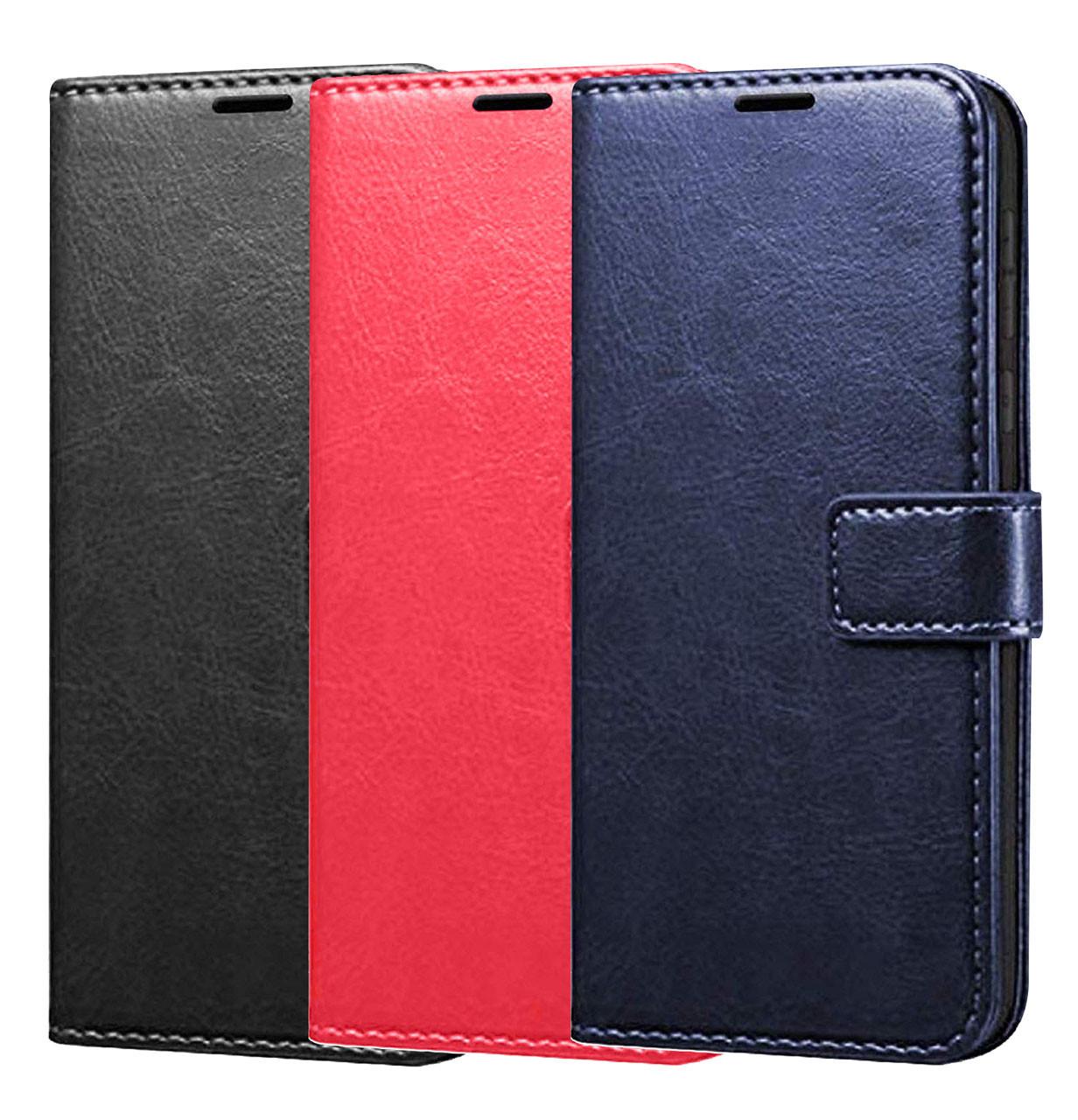 Чехол-книжка Wallet Glossy с визитницей для Xiaomi Redmi 8A
