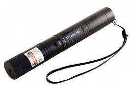 Потужна лазерна указка Green Laser 303 зелена підпалює сірники! Світить дуже далеко
