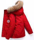 В стиле Canada Goose Expedition parka Мужской пуховик экспедишн парка канада гус, фото 6