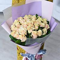 Букет из 35 персиковых роз Талея, фото 1