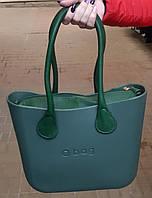 Женская сумка O bag mini в зеленом   корпусе