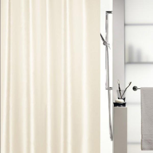 Шторка для ванной текстильная Spirella SHINE бежевая 10.15640