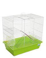 Клетка «Гоша» для мелких грызунов (белый/зеленый), Природа™