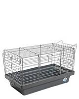 Клетка хром «Кролик 50» для крупных грызунов (хром/серый), Природа™