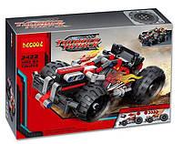 Конструктор Красный гоночный инерционный автомобиль Thunder Decool