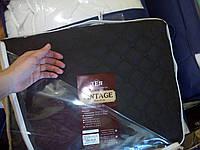 """Покрывало коричневое """"Vintage"""" 240*180см с наволочкой 50*70см, ТЕП"""