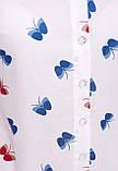 Рубашка 1709 принт бабочки, фото 2